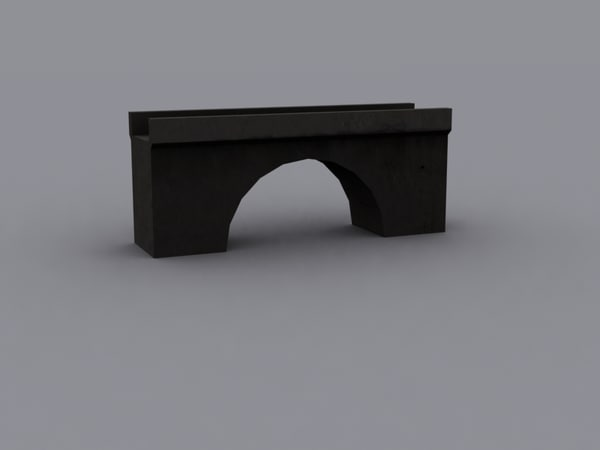 3d model modern bridge