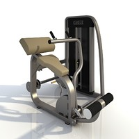 3d model sport exerciser