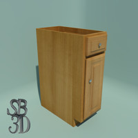 Cabinet Base 12 inch functional