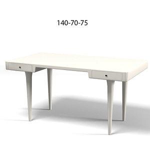 cappelini riga desk 3d model