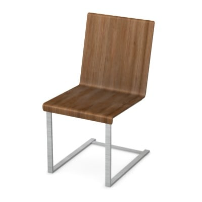 3d model chair kitchen