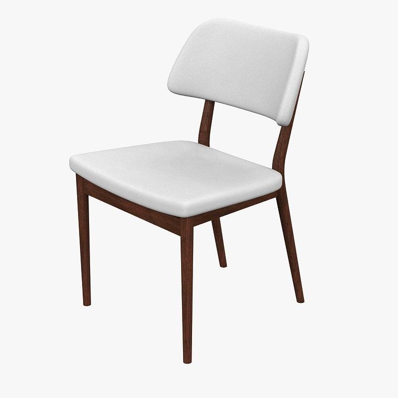 chair nissa 3d max