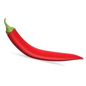 chilli pepper 3d obj
