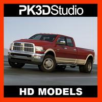 dodge ram 3500 2011 3d 3ds