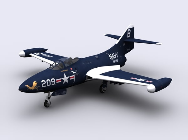 3d f9f fighter panther