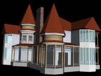 3ds max house boshko