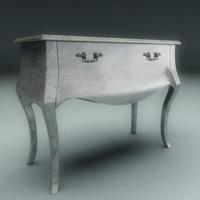 3d max classic cabinet