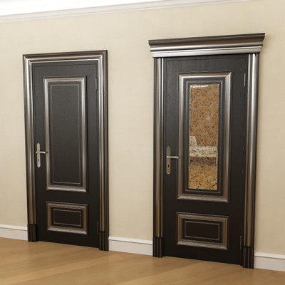 3d model interior door palladio
