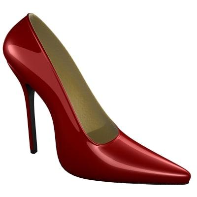 max female heel shoe
