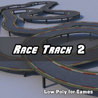race track dxf