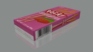 free blend model pocky biscuit sticks