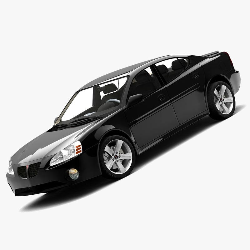 3d pontiac grand prix 2008 model. Black Bedroom Furniture Sets. Home Design Ideas
