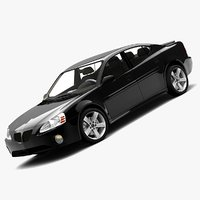 3d pontiac grand prix 2008 model
