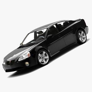 3d pontiac grand prix 2008 model