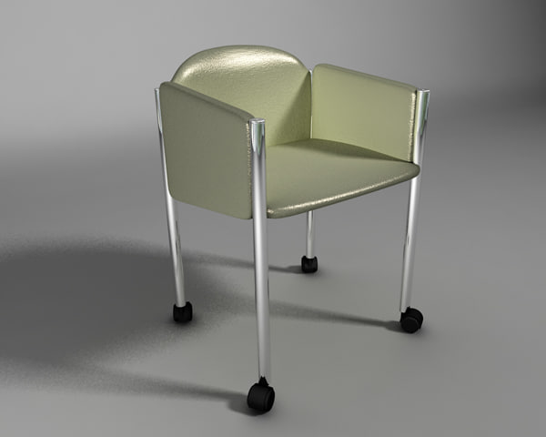 c4d seat chair