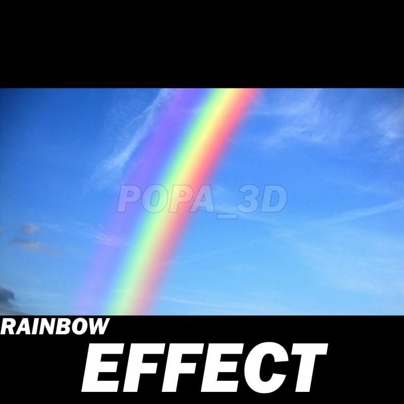 max rainbow effects