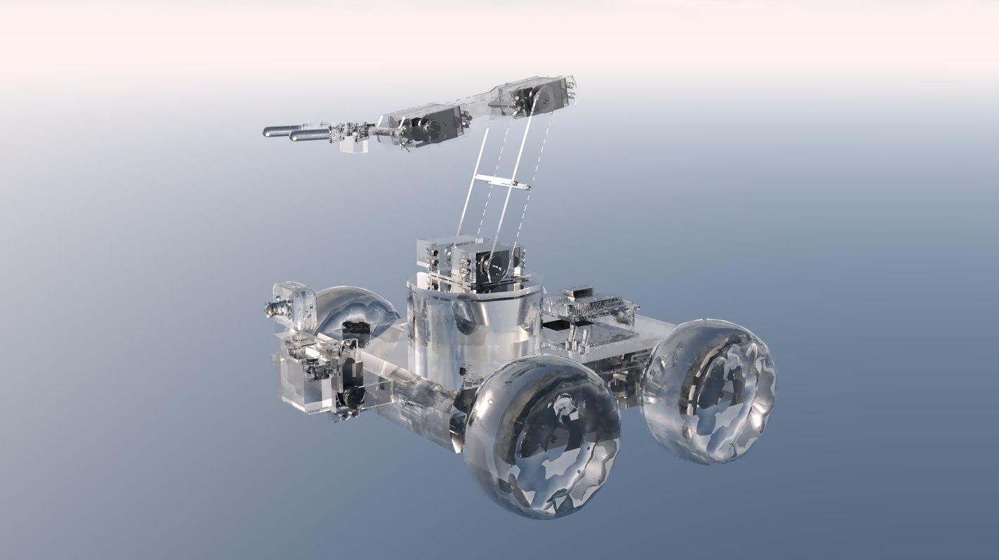 3ds max robot arm