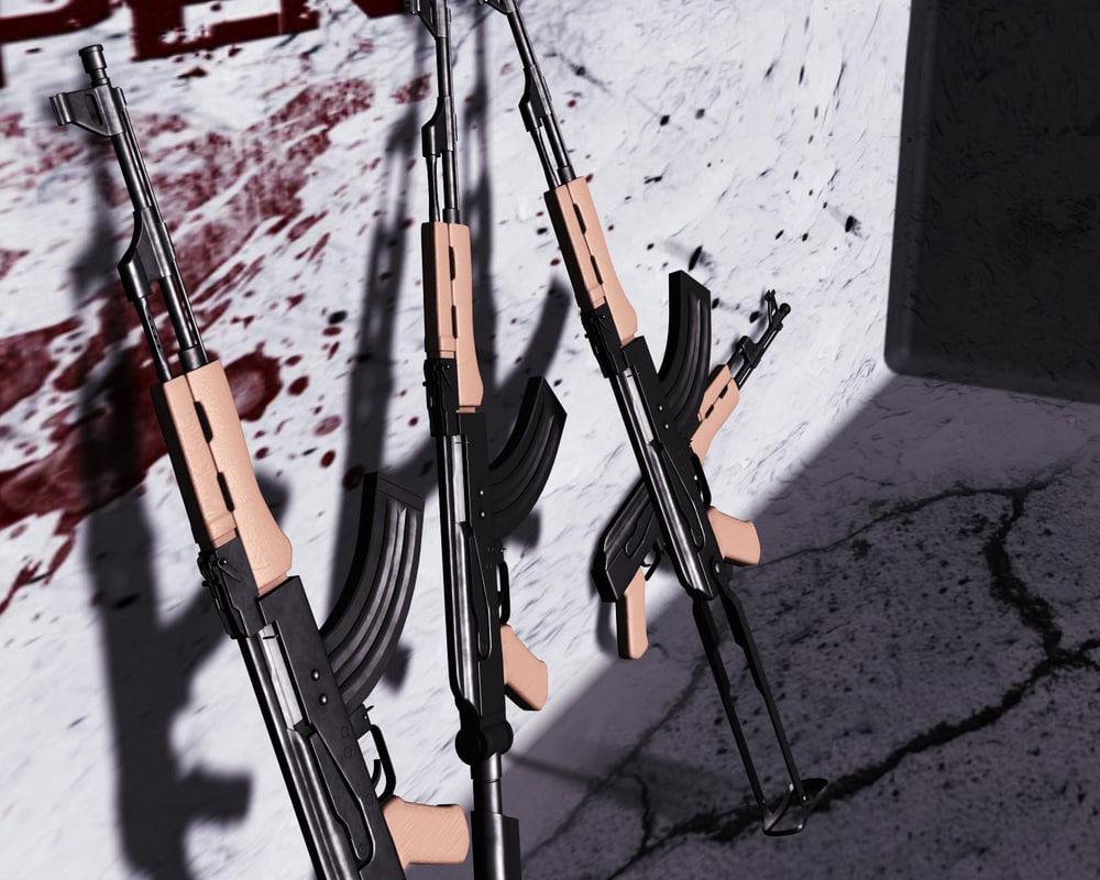 ak-47 assault rifle ak ma