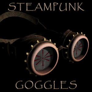 3d steampunk goggles