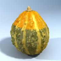 gourd scan 3d model
