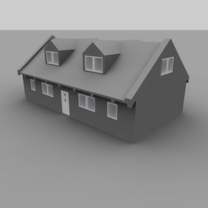 free c4d model haus house