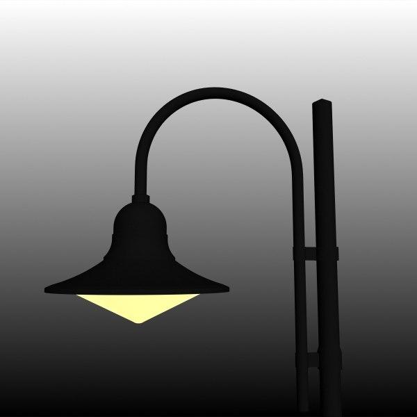 decorative urban lighting 3d 3ds