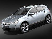 Nissan Qashqai+2 2009-2012