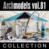3d archmodels vol 81 model