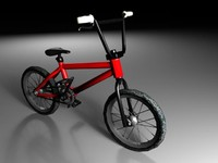 bicycle bmx 3d max