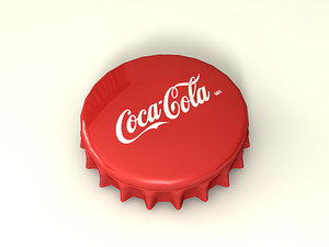 free bottle cap 3d model