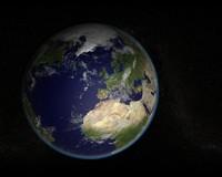 3d planet cloud