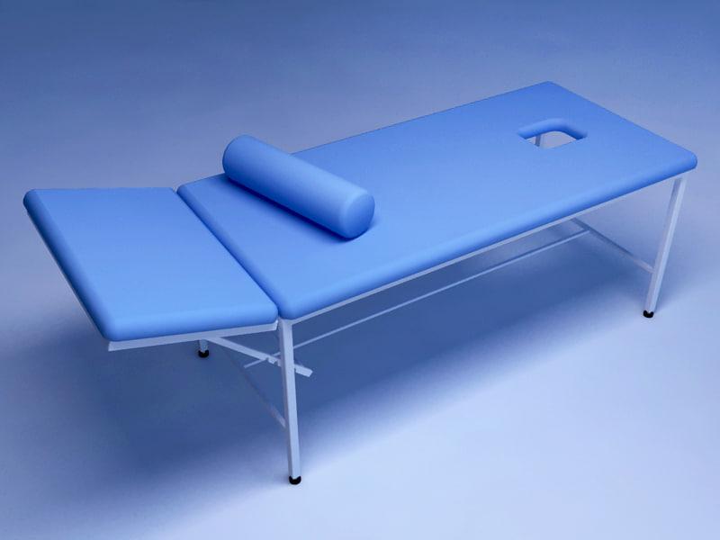 massage table 3d 3ds