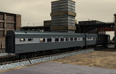 pullman passenger car 3d 3ds
