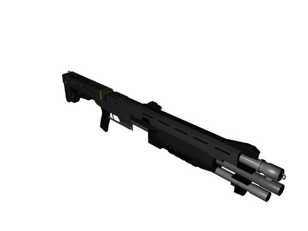 3d 3ds gun shot