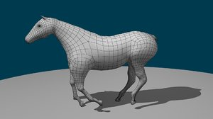 rigged horse max