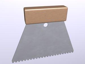 3ds max spatule glue