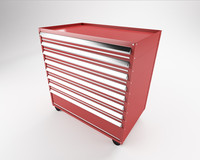 tool trolley 3d 3ds