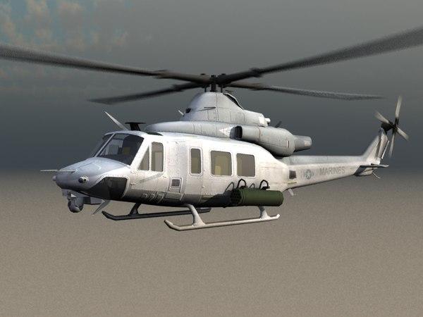 uh-1y huey venom usmc 3ds