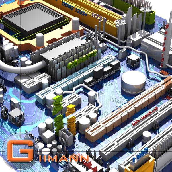 3d model circuit city