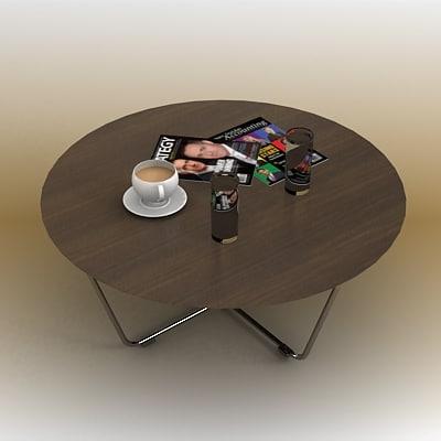 Maya Coffee Table.3d Coffee Table