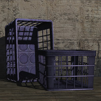 milk crate prop 3ds