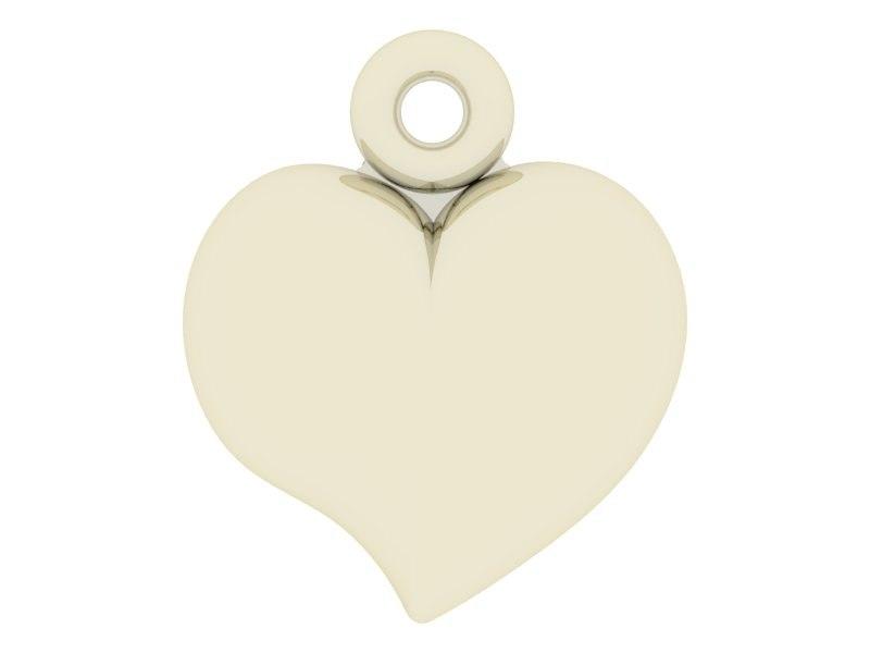 3ds max small heart pendant