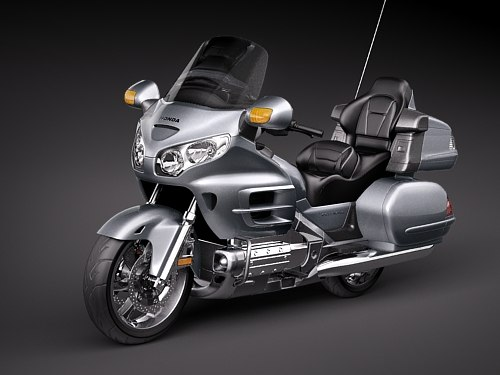 3d honda goldwing gold wing model