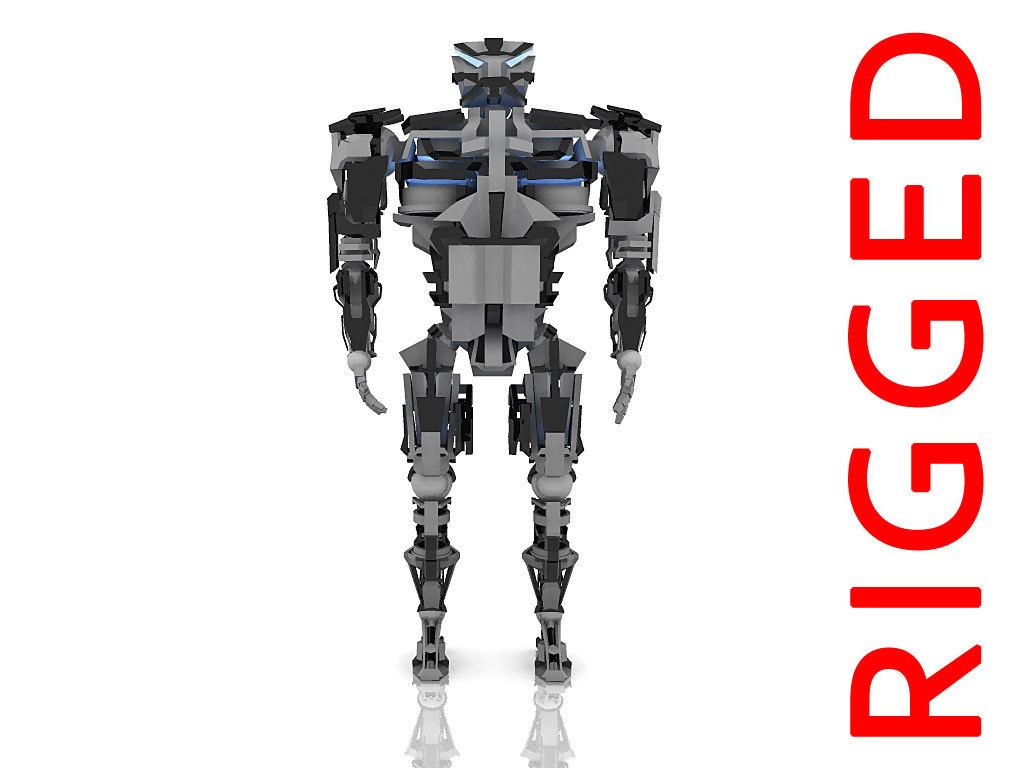 maya robot skeleton
