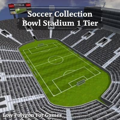 soccer bowl stadium 1 3d 3ds