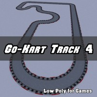 Low Polygon Go-Kart Track 4