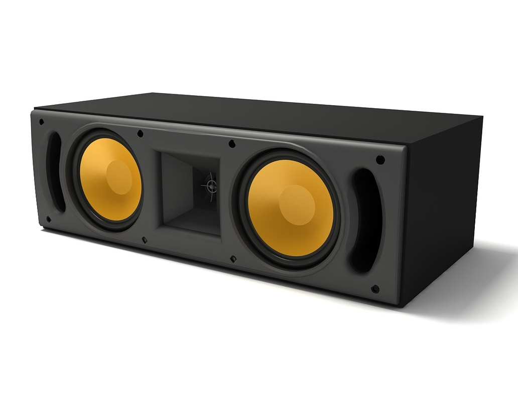 3d klipsch rc52 center channel