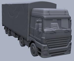 truck soft 3d model