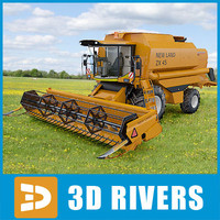 Combine harvester New Holland TX68 Plus by 3DRivers