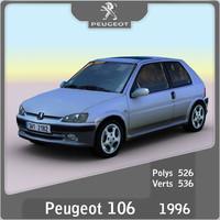 peugeot 106 1996 3ds